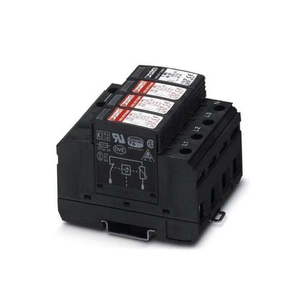 Phoenix Contact Túlfeszültség-levezetők típusú 2 - VAL-MS 230/3+1