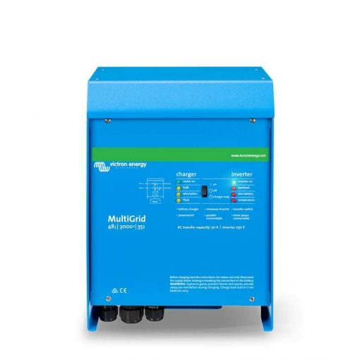 Victron MultiGrid Inverter/Töltő 48/3000/35-50