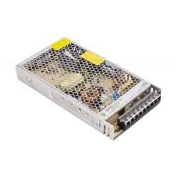POS Led tápegység POS-200-12-C 199.2W 12V 16.6A fémházas Compact