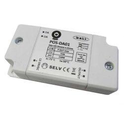 POS Led tápegység POS-DA01 dimmelhető tápegység 150W 12-24V 6,25A