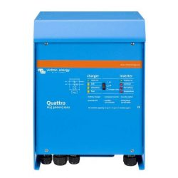 Victron Quattro Inverter/Töltő 24/8000/200-100/100