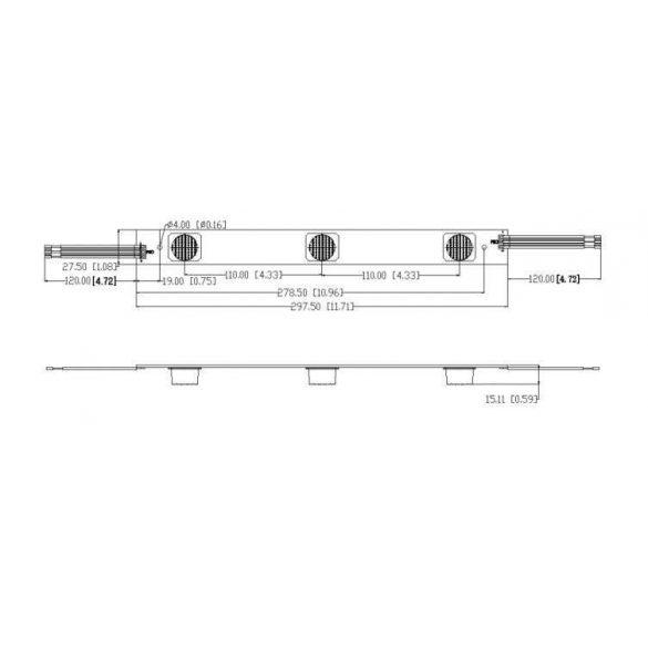 Led Modul 1db LH351Z chippel beépített dimmerrel