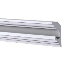 RV-01-A Rejtett világítás díszléc - mennyezet 1,25m/db