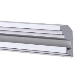 RV-03-A Rejtett világítás díszléc - mennyezet 1,25m/db