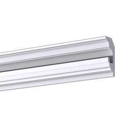 RV-07/B Rejtett világítás díszléc - mennyezet 1,25m/db