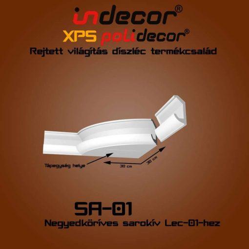 Indecor® SA-01 Íves sarokelem