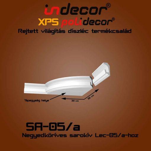 Indecor® SA-05A Íves sarokelem