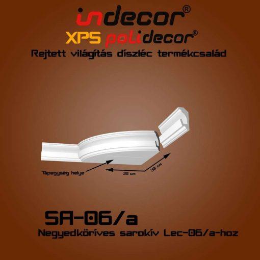 Indecor® SA-06A Íves sarokelem