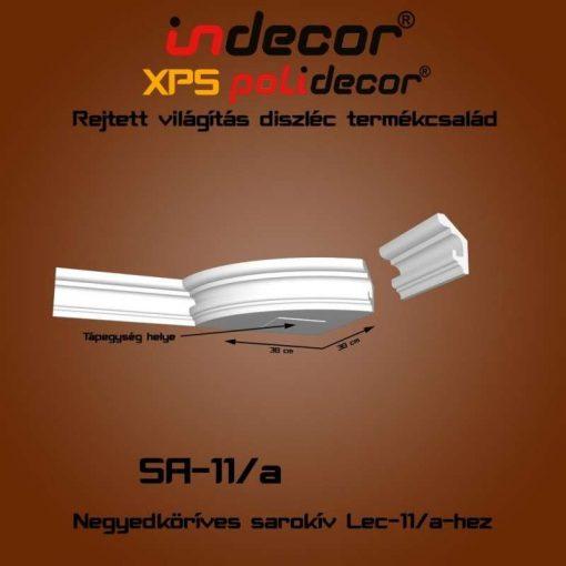 Indecor® SA-11A Íves sarokelem