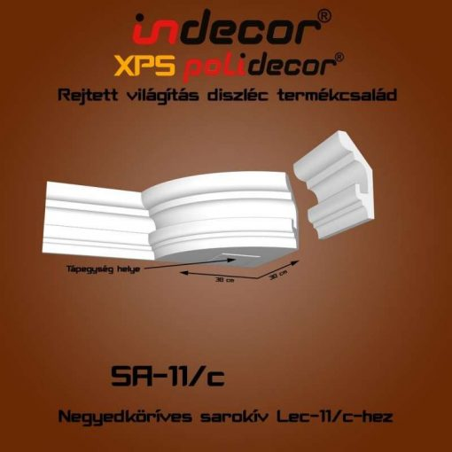 Indecor® SA-11C Íves sarokelem