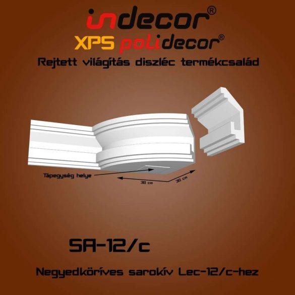 Indecor® SA-12C Íves sarokelem