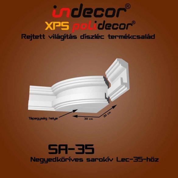 Indecor® SA-35 Íves sarokelem