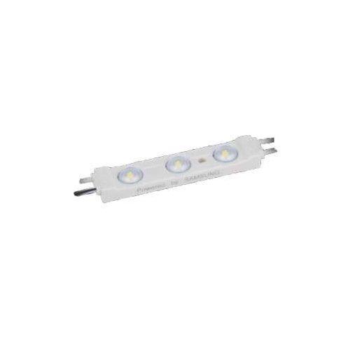 Led Modul 1db 3x2835 led 1,2W Samsung chippel sorolható vízálló Hideg fehér