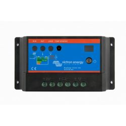 Napelemes töltésvezérlő Victron Energy BlueSolar PWM-Light 10A 12-24V
