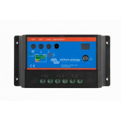 PWM-PRO 10A 12-24V Napelemes töltésvezérlő Victron Energy BlueSolar