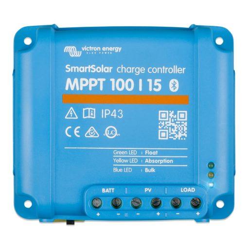 MPPT 100/15A 12/24V Napelemes töltésvezérlő Victron Energy BlueSolar