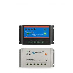 Napelemes töltésvezérlő Victron Energy BlueSolar PWM-DUO 20A 12-24V