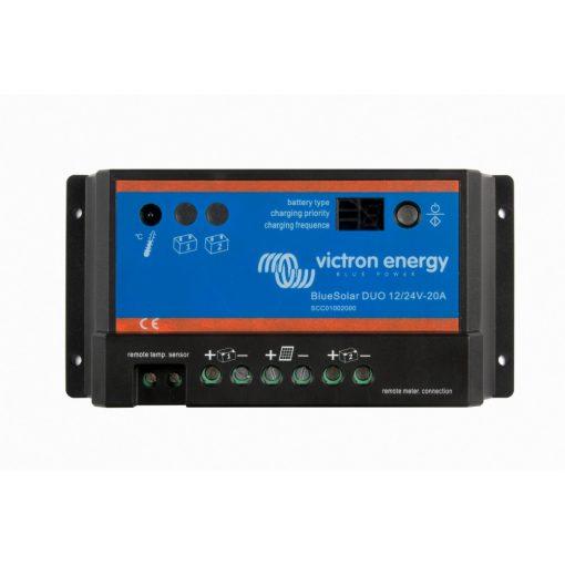 PWM-Light 20A 12-24V Napelemes töltésvezérlő Victron Energy BlueSolar