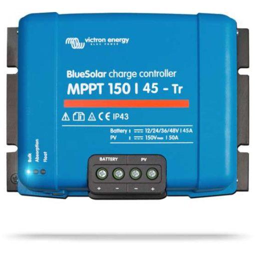 MPPT 150/45 TR 12/24/36/48V Napelemes töltésvezérlő Victron Energy BlueSolar