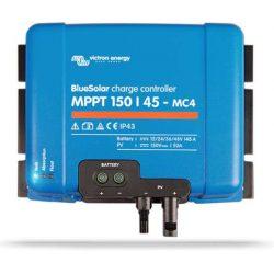 Victron Energy BlueSolar MPPT 150/45 MC4 napelemes töltésvezérlő 12/24/36/48V