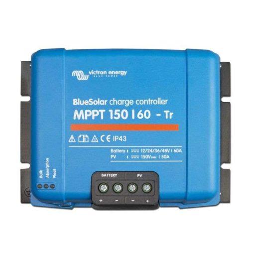MPPT 150/60 TR 12/24/36/48V Napelemes töltésvezérlő Victron Energy BlueSolar