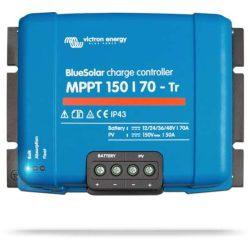Victron Energy BlueSolar MPPT 150/70 TR napelemes töltésvezérlő 12/24/36/48V