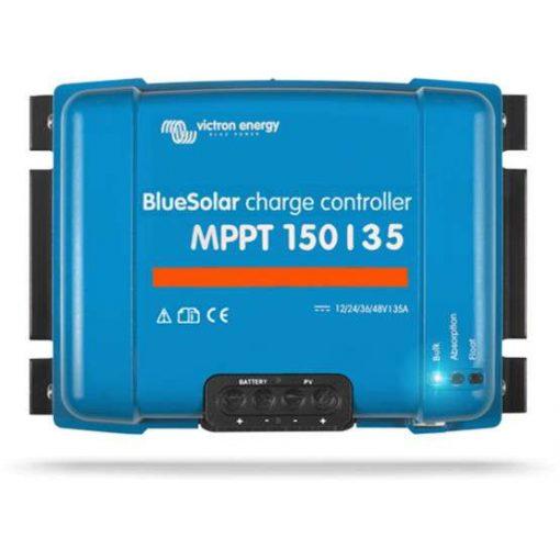 MPPT 150/35A 12/24/48V Napelemes töltésvezérlő Victron Energy BlueSolar