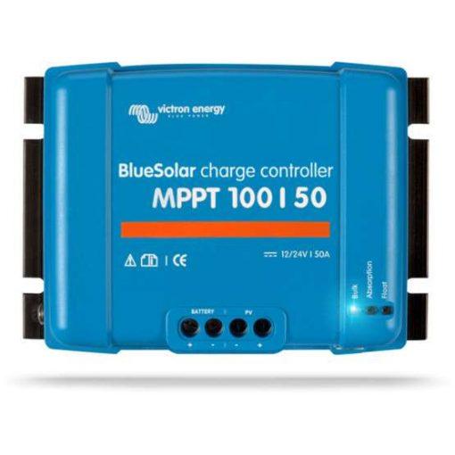 MPPT 100/50A 12/24V Napelemes töltésvezérlő Victron Energy BlueSolar