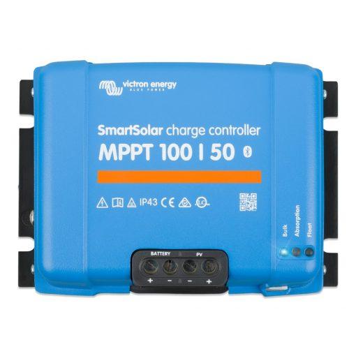 MPPT 100/50A 12/24 Napelemes töltésvezérlő Victron Energy SmartSolar