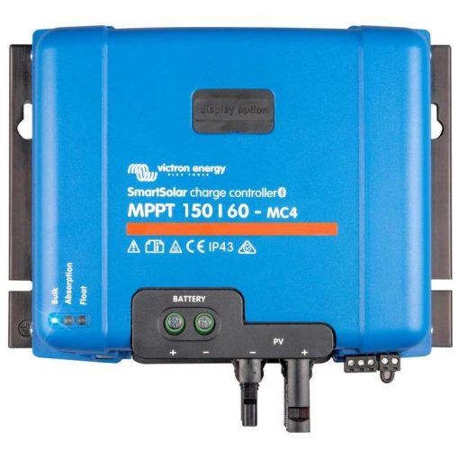 MPPT 150/60A MC4 12/24/48V Napelemes töltésvezérlő Victron Energy SmartSolar
