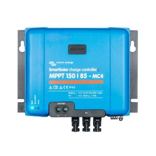 MPPT 150/85A MC4 12/24/48V Napelemes töltésvezérlő Victron Energy SmartSolar