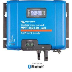 Victron Energy SmartSolar MPPT 250/60A MC4 napelemes töltésvezérlő 12/24/48V