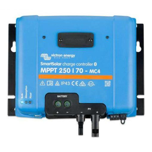 MPPT 250/70A MC4 12/24/48V Napelemes töltésvezérlő Victron Energy SmartSolar