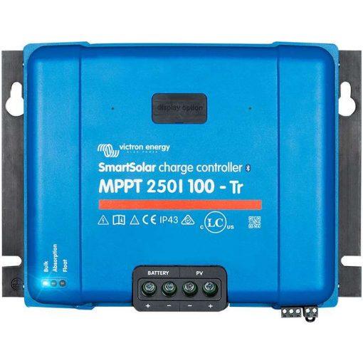 MPPT 250/100A TR 12/24/48V Napelemes töltésvezérlő Victron Energy SmartSolar