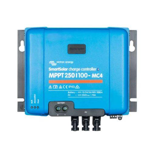 MPPT 250/100A MC4 12/24/48V Napelemes töltésvezérlő Victron Energy SmartSolar