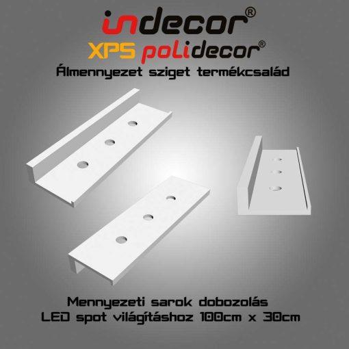 Indecor® SD-1-30 XPS Sarok doboz