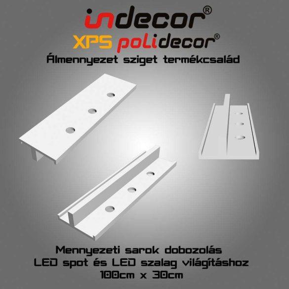 Indecor® SD-2-30 Sarok doboz