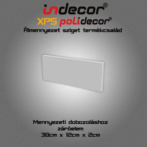 Indecor® SDV-1 Sarokdobozolás végzáró lap 1