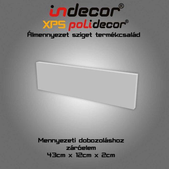 Indecor® SDV-2 Sarokdobozolás végzáró lap 2