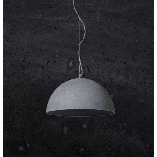 SFERA L Beton Lámpa Fekete