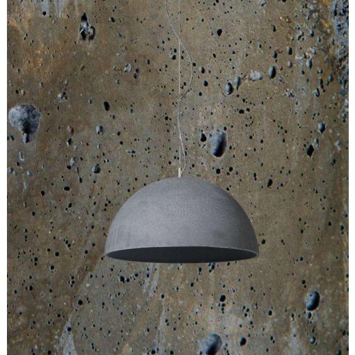 SFERA L Beton Lámpa Olívazöld