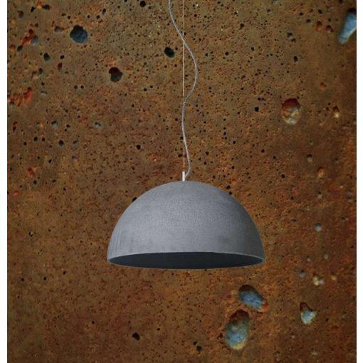 SFERA L Beton Lámpa Rozsdás-szürke