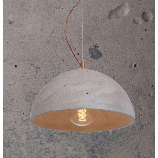 SFERA M Beton Lámpa Szürke