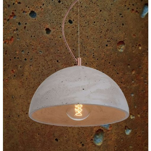 SFERA M Beton Lámpa Rozsdás-szürke