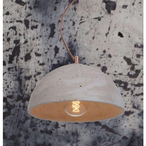 SFERA M Beton Lámpa Só-Bors