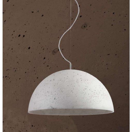 SFERA XL Beton Lámpa Csokoládé