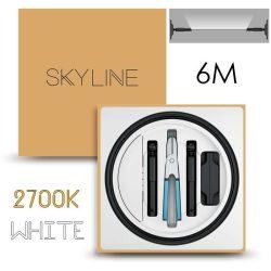 SKYLINE AURORA EXKLUZÍV Indirekt világítás 24V 13,5W/m 2700K 6m hosszú Fehér