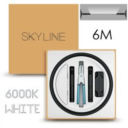 SKYLINE AURORA EXKLUZÍV Indirekt világítás 24V 13,5W/m 6000K 6m hosszú Fehér