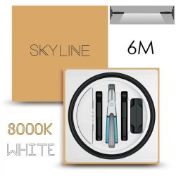 SKYLINE AURORA EXKLUZÍV Direkt világítás 24V 10W/m 3000K 6m hosszú Fehér