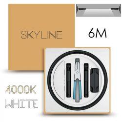 SKYLINE AURORA EXKLUZÍV Direkt világítás 24V 10W/m 4000K 6m hosszú Fehér